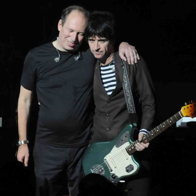 Johnny Marr to join Hans Zimmer on stage .