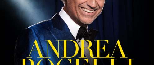 ANDREA BOCELLI ANNOUNCES HUGE SHOWS AT THE O2 ARENA, LONDON & 3ARENA, DUBLIN IN 2018