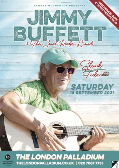 Jimmy Buffett Live In London